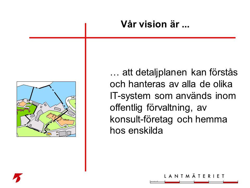 Vår vision är ...