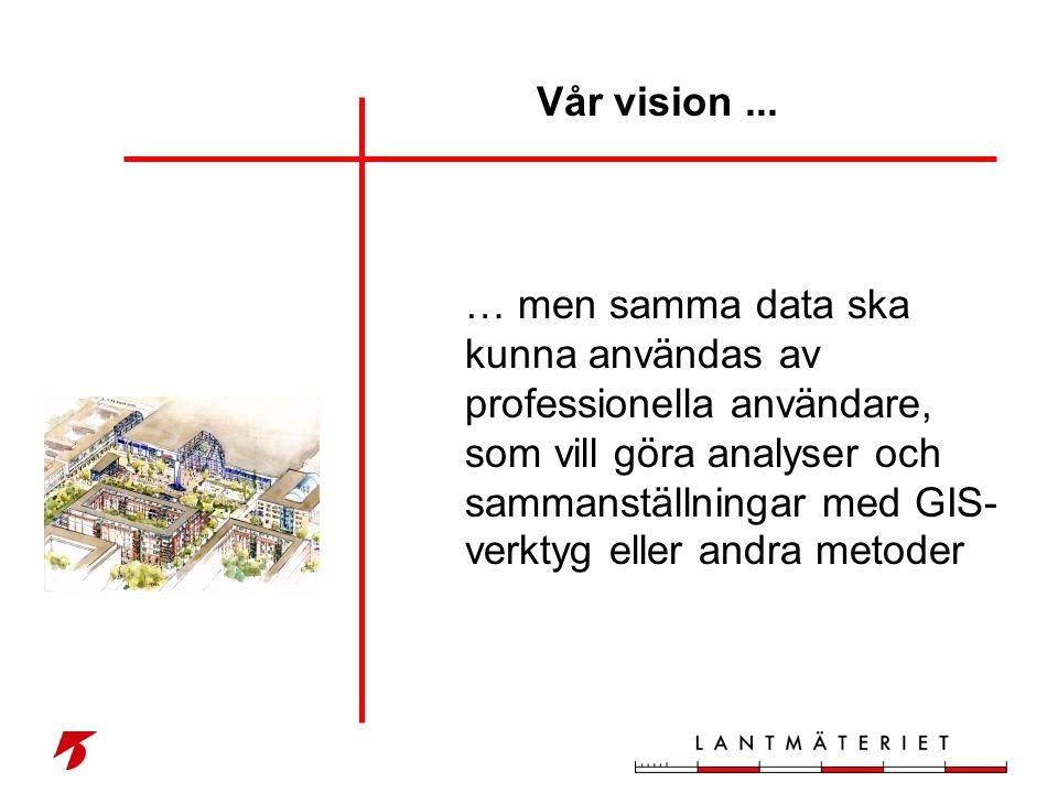 Vår vision ...