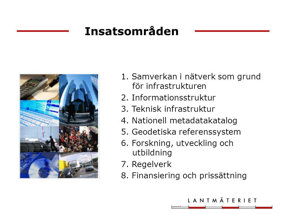 Insatsområden Samverkan i nätverk som grund för infrastrukturen