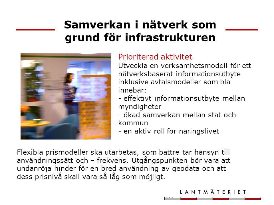 Samverkan i nätverk som grund för infrastrukturen