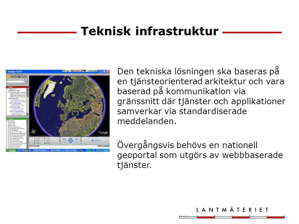 Teknisk infrastruktur