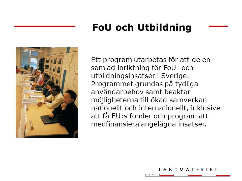 FoU och Utbildning