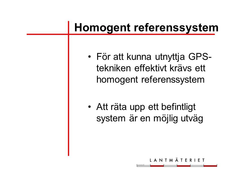 Homogent referenssystem