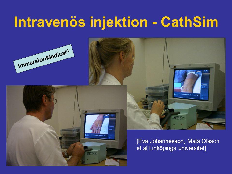 Intravenös injektion - CathSim