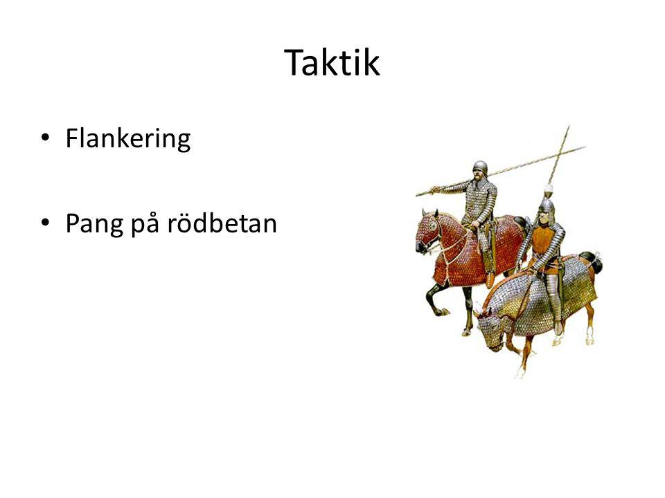 Taktik Flankering Pang på rödbetan