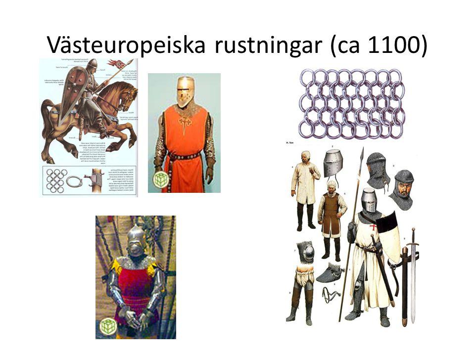 Västeuropeiska rustningar (ca 1100)