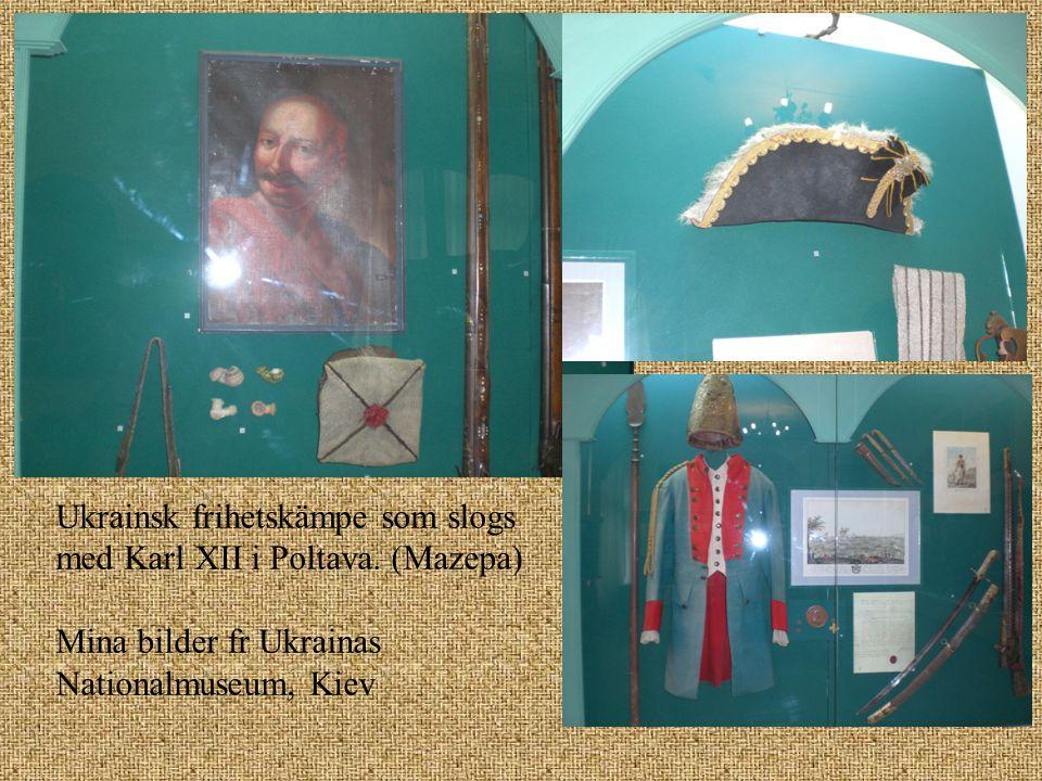 Ukrainsk frihetskämpe som slogs med Karl XII i Poltava. (Mazepa)