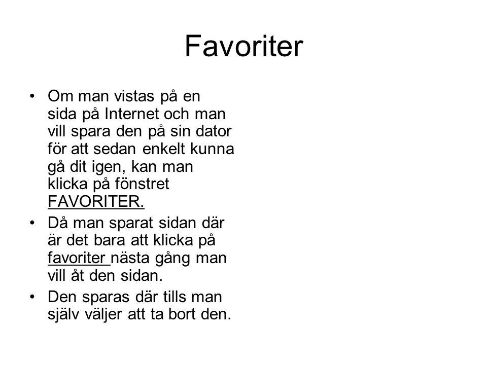 Favoriter