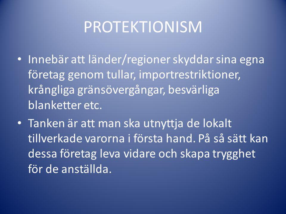 PROTEKTIONISM