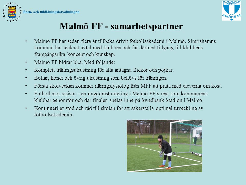 Malmö FF - samarbetspartner
