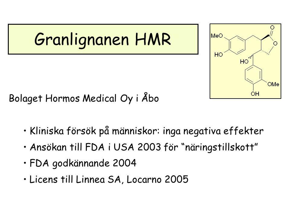 Granlignanen HMR Bolaget Hormos Medical Oy i Åbo