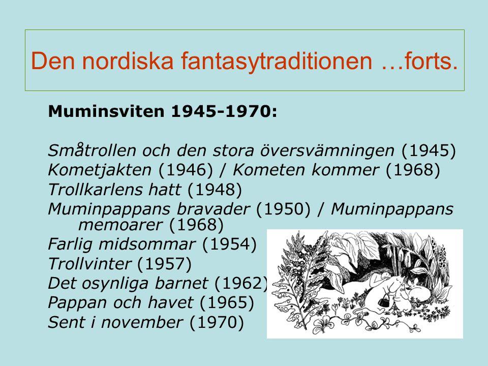 Den nordiska fantasytraditionen …forts.
