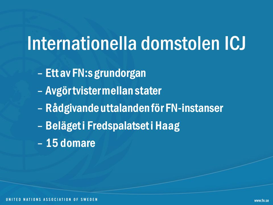 Internationella domstolen ICJ