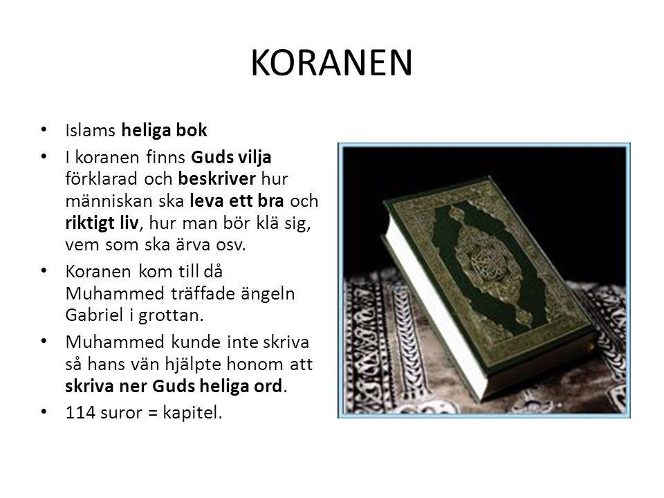 KORANEN Islams heliga bok