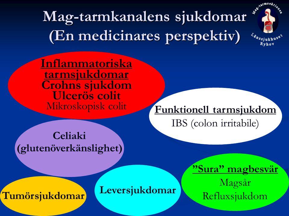 Mag-tarmkanalens sjukdomar (En medicinares perspektiv)