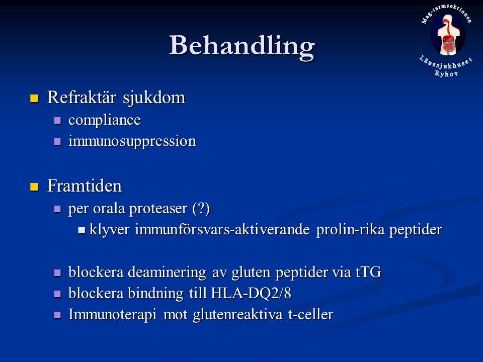 Behandling Refraktär sjukdom Framtiden compliance immunosuppression