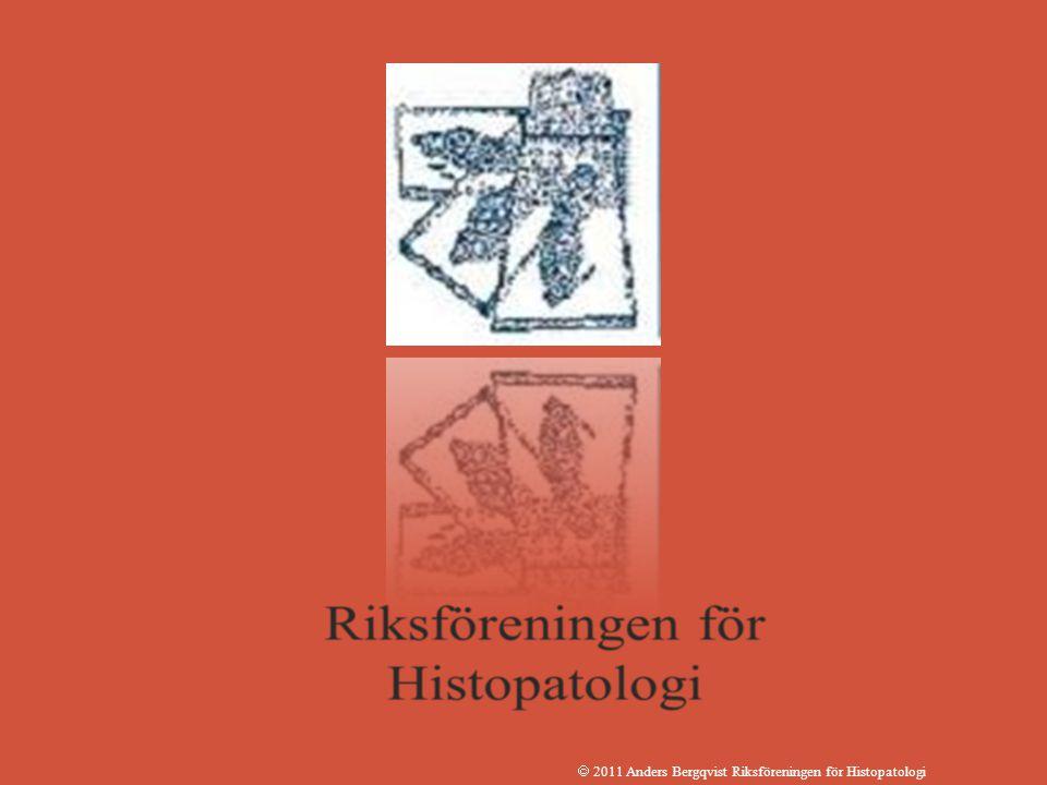  2011 Anders Bergqvist Riksföreningen för Histopatologi