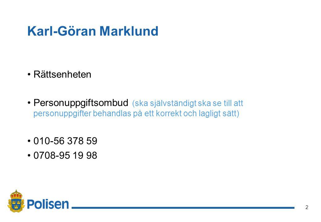 Karl-Göran Marklund Rättsenheten