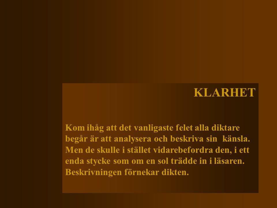 KLARHET