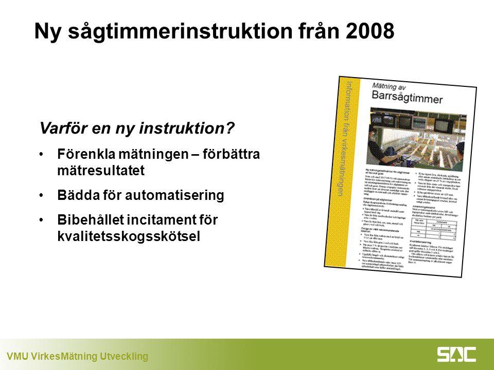 Ny sågtimmerinstruktion från 2008