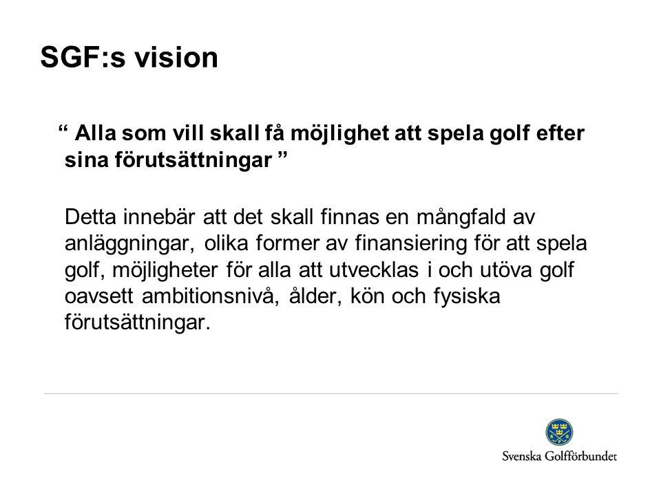 SGF:s vision