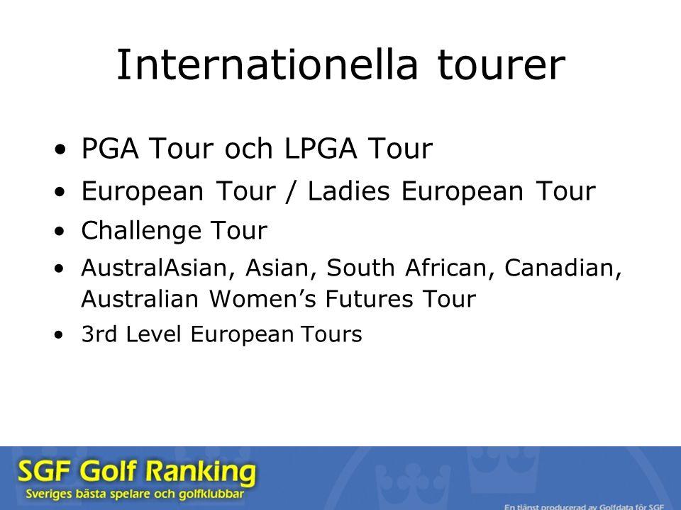 Internationella tourer