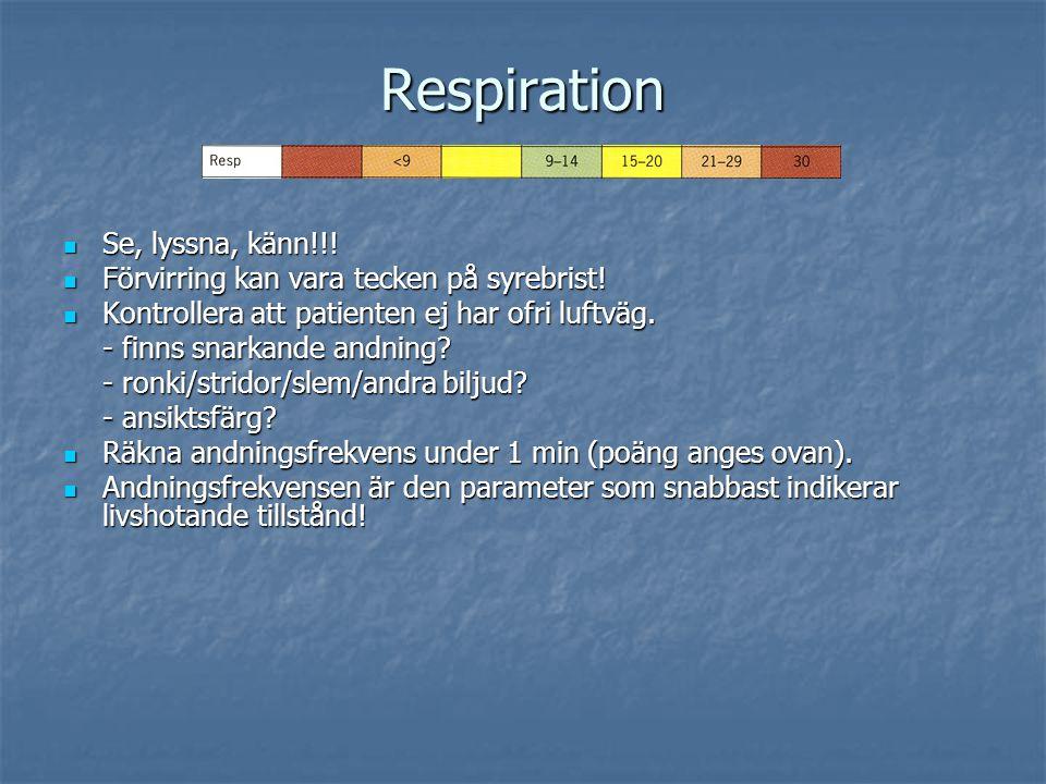 Respiration Se, lyssna, känn!!!