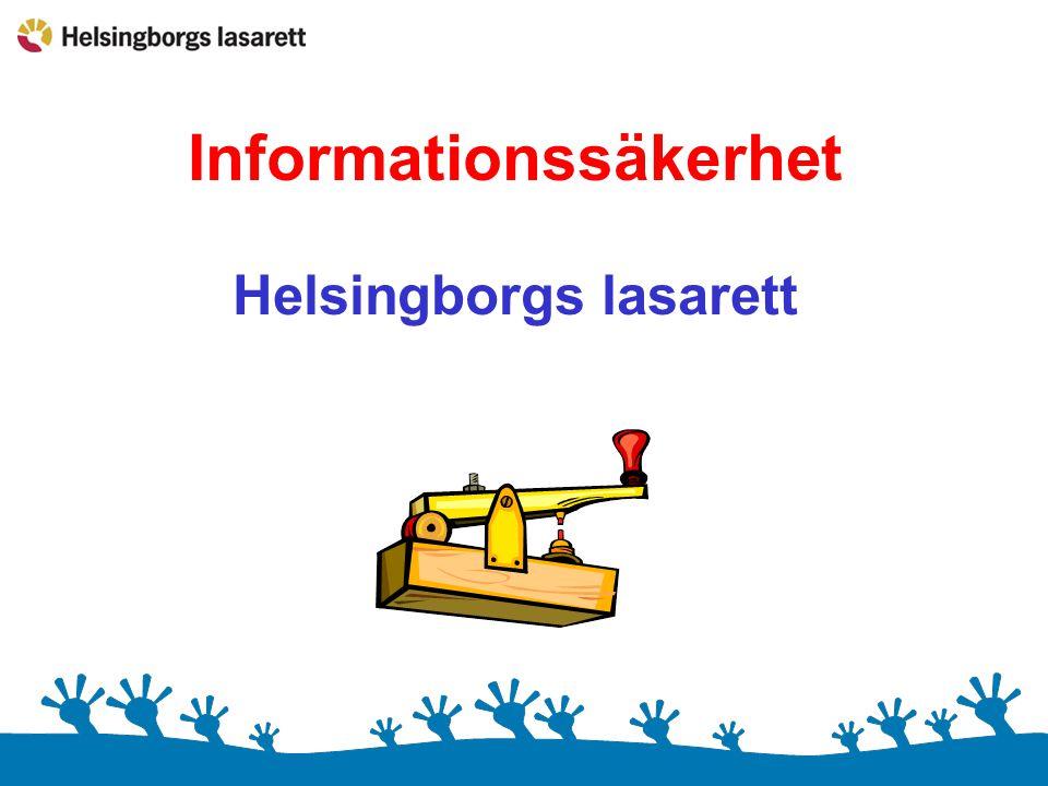 Informationssäkerhet Helsingborgs lasarett
