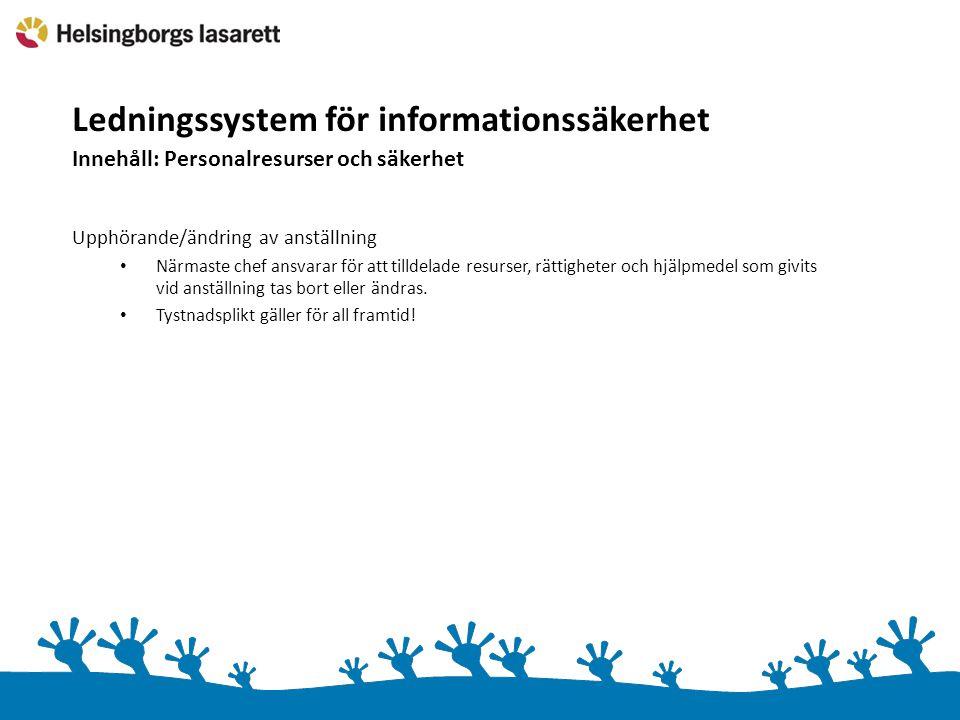 Ledningssystem för informationssäkerhet