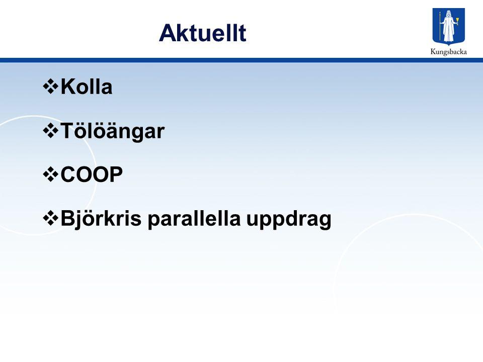 Aktuellt Kolla Tölöängar COOP Björkris parallella uppdrag