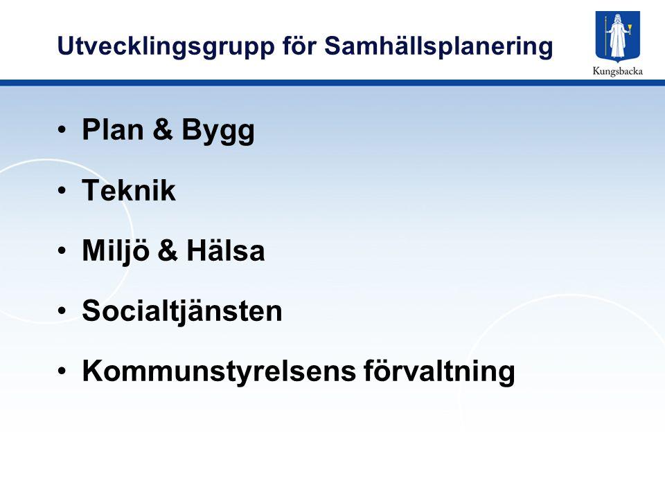Utvecklingsgrupp för Samhällsplanering