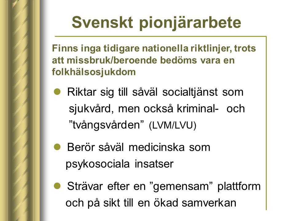 Svenskt pionjärarbete