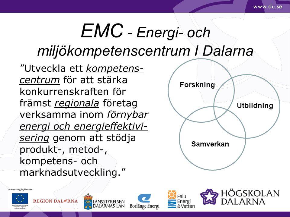 EMC - Energi- och miljökompetenscentrum I Dalarna