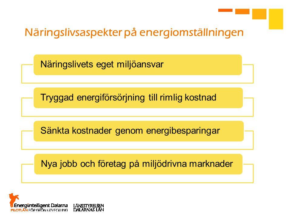 Näringslivsaspekter på energiomställningen