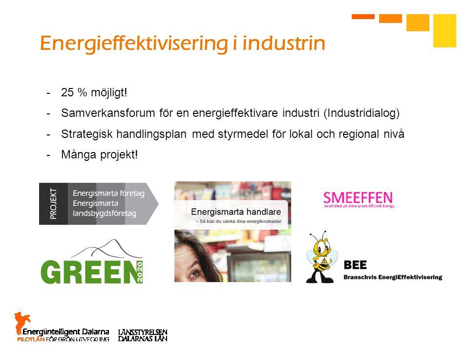 Energieffektivisering i industrin
