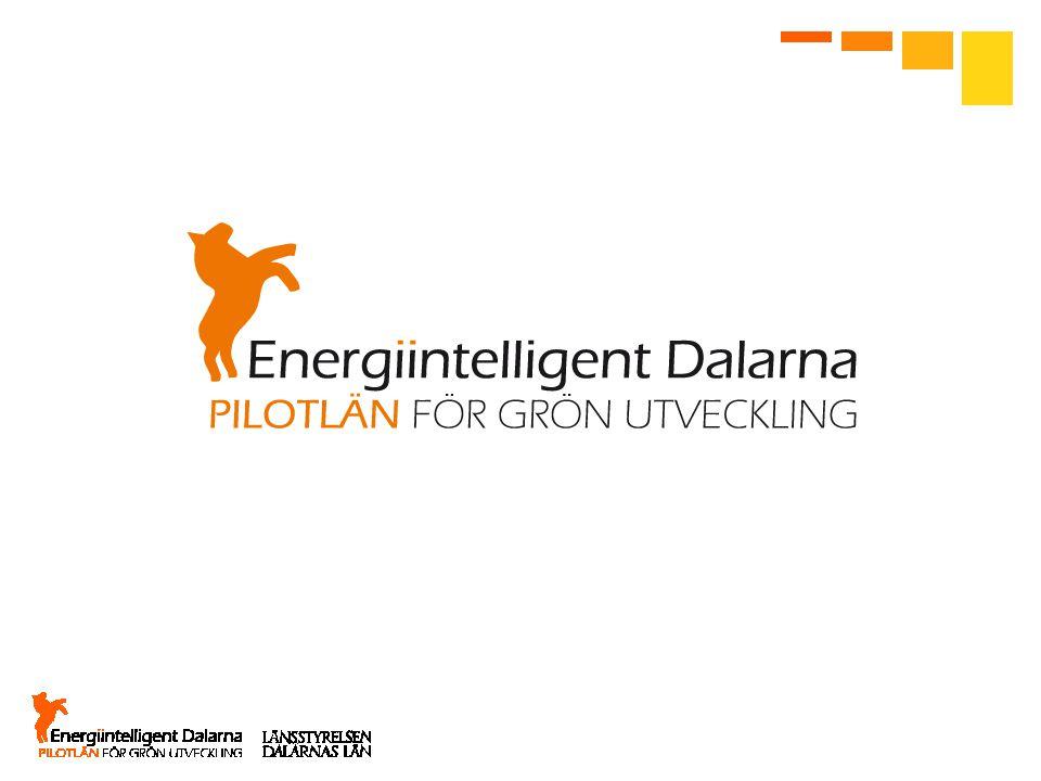 Ej länsstyrelsen, hela Energiintelligent Dalarna beslutat