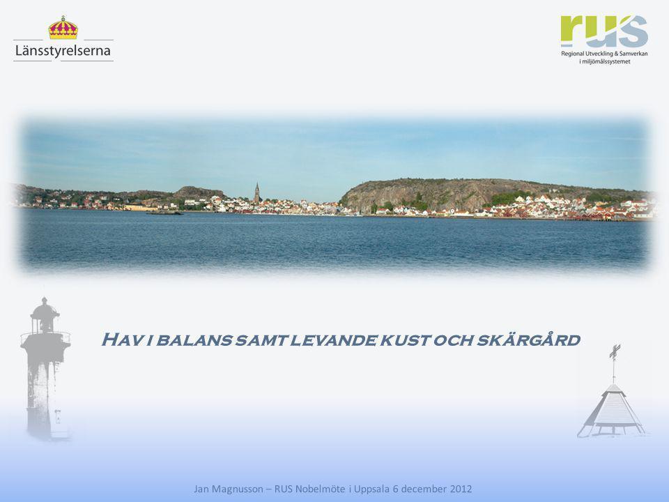 Hav i balans samt levande kust och skärgård