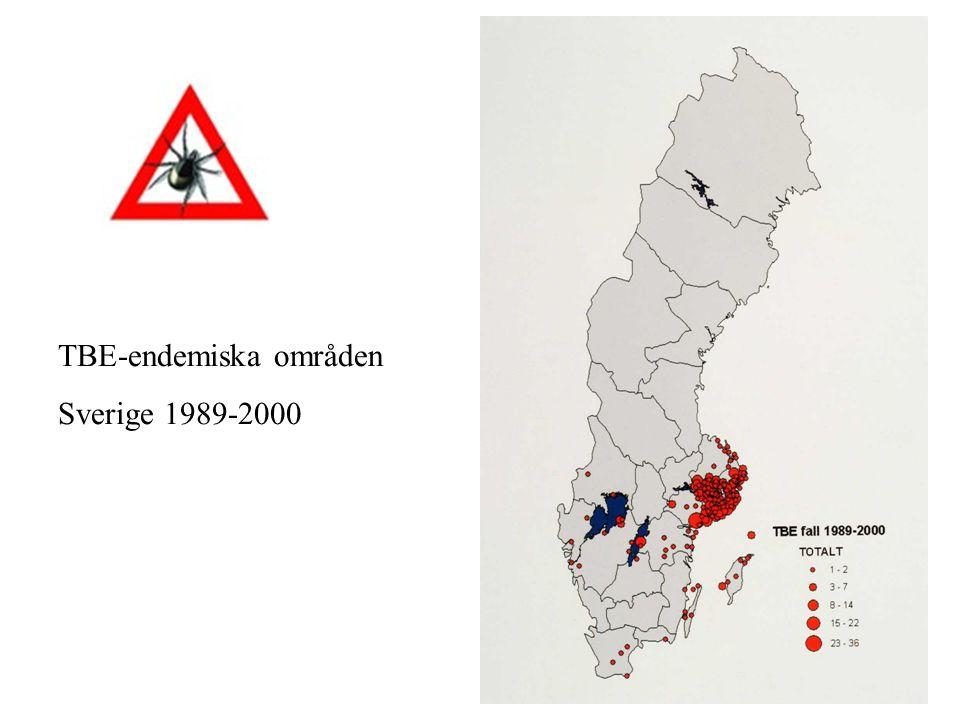 TBE-endemiska områden