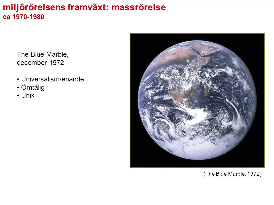 miljörörelsens framväxt: massrörelse ca 1970-1980