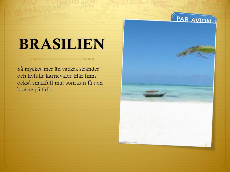 BRASILIEN Så mycket mer än vackra stränder och livfulla karnevaler.