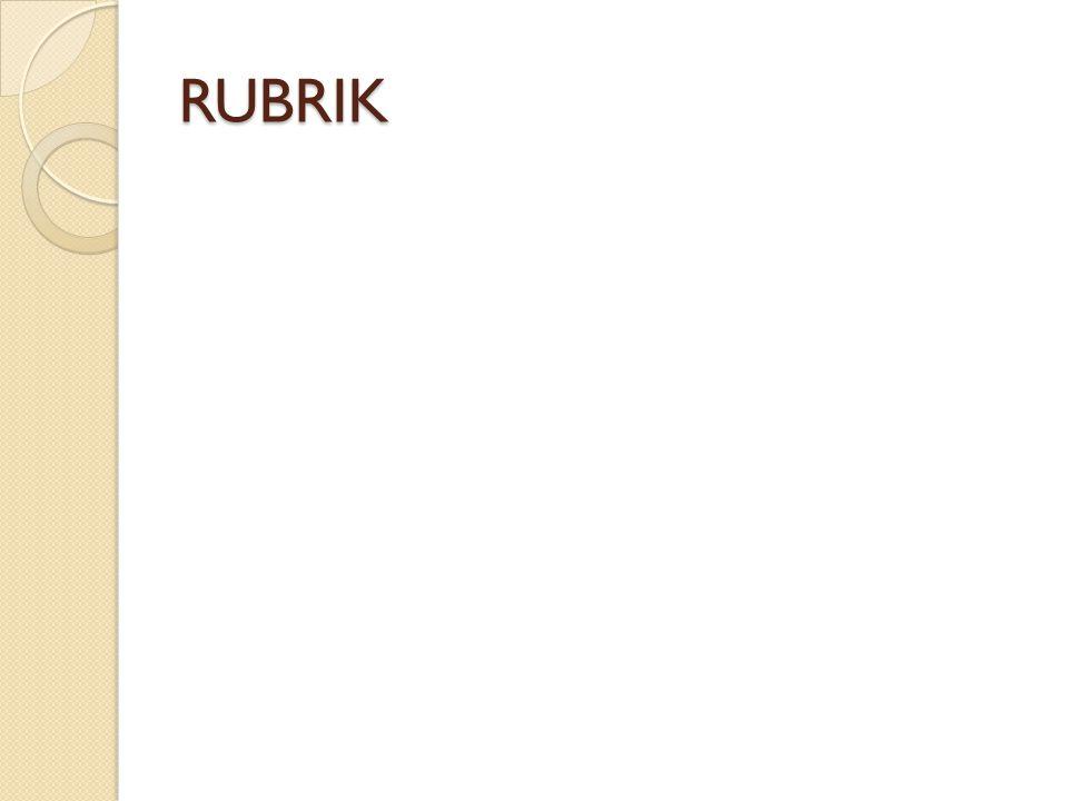 RUBRIK