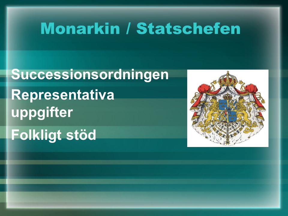 Monarkin / Statschefen