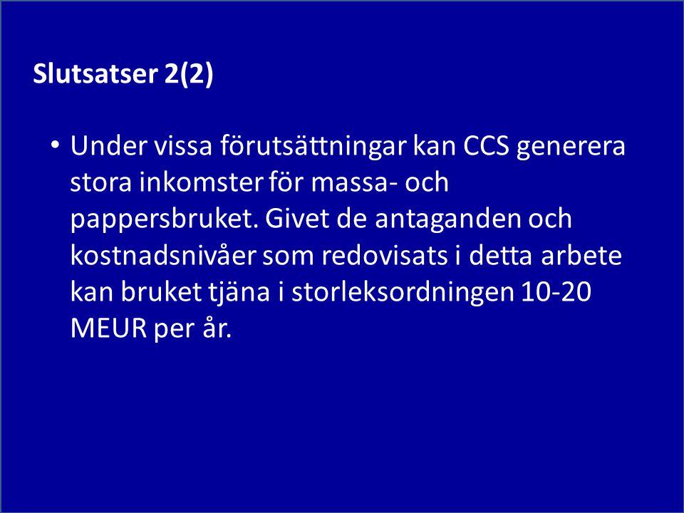 Slutsatser 2(2)