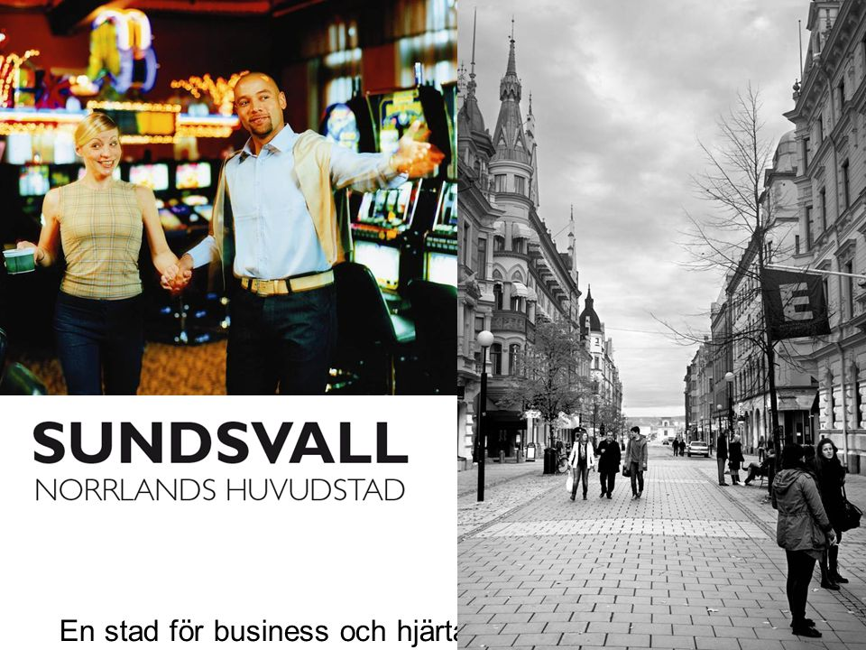 En stad för business och hjärta.