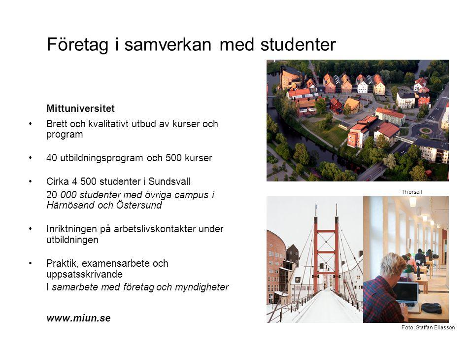 Företag i samverkan med studenter