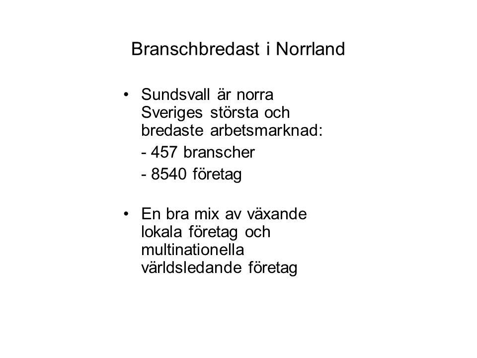 Branschbredast i Norrland