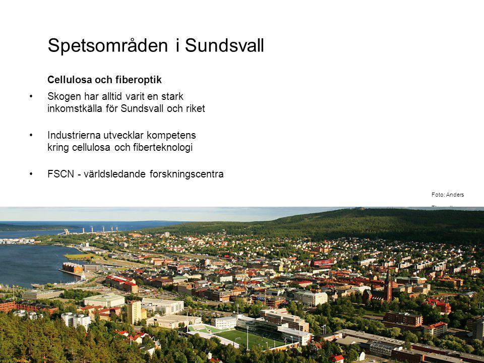 Spetsområden i Sundsvall