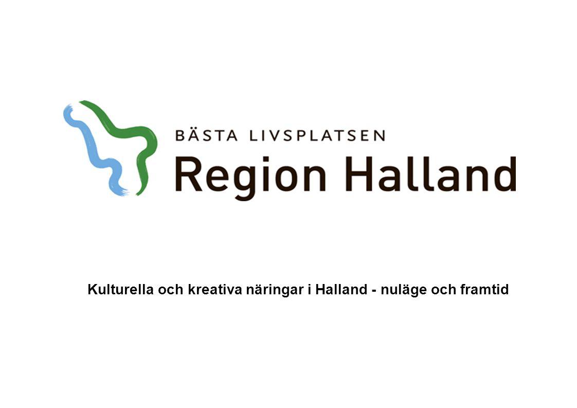 Kulturella och kreativa näringar i Halland - nuläge och framtid