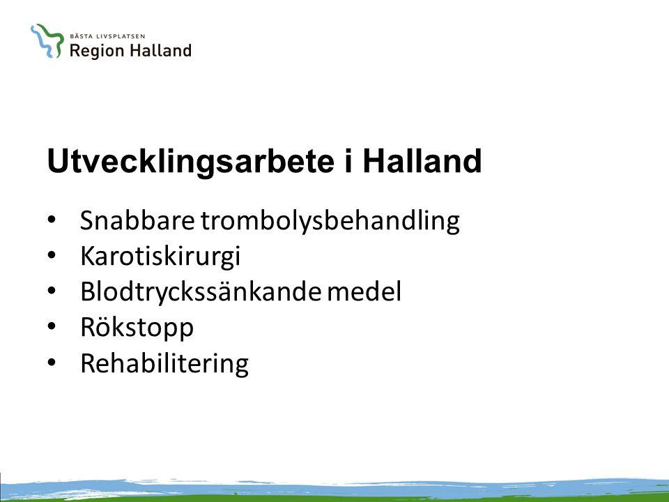 Utvecklingsarbete i Halland