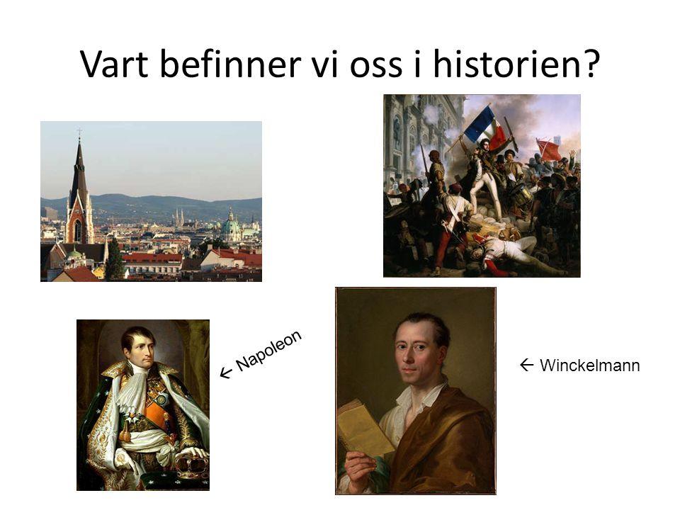 Vart befinner vi oss i historien